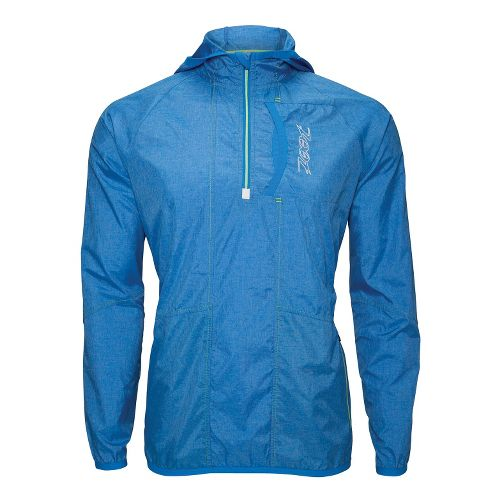 Mens Zoot ETHERwind Long Sleeve 1/2 Zip Technical Tops - Zoot Blue L