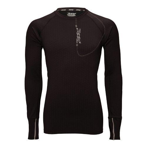 Mens Zoot ULTRA MEGAheat Tee Long Sleeve No Zip Technical Tops - Black XL