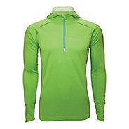 Mens Zoot MICROlite+ Hoodie Long Sleeve 1/2 Zip Technical Tops