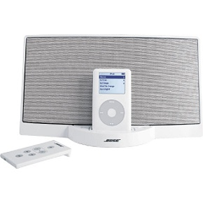 Bose SoundDock  White Digital Music System For iPod, iPod mini, iPod nano
