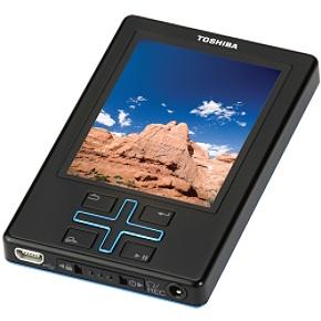 Toshiba T400BL 4GB MP3 Player