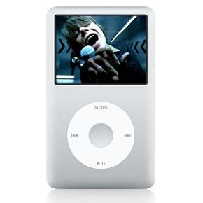 Apple 160GB iPod ClassicSilver 160GB iPod Classic Video