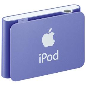 Apple MB233LL/A iPod Shuffle Purple Apple 1GB iPod Shuffle-Purple