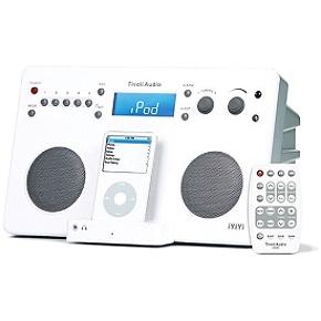 Tivoli iYiYi White/Silver iPod Dock With AM/FM Stereo Radio