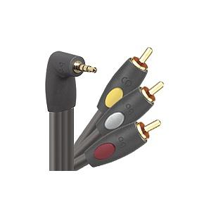 Audioquest AVAmini 2M CinemaQuest AV-Amini Combo Audio/Video Coax Cable (6 7)