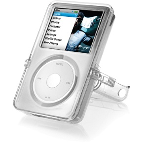 DLO VideoShell for iPod classic Clear hard case with kickstand for iPod classic
