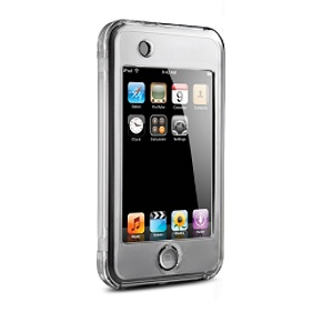 DLO VideoShell for iPod touch Clear hard case with kickstand for iPod touch