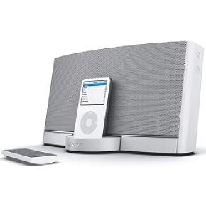 Bose SoundDock Portable  White Portable Sound Dock White