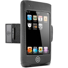 DLO Action Jacket for iPod touch Neoprene case with armband/belt clip for iPod touch