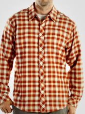 Live every day in the Pocatello Plaid, a flannel shirt that is functional and...