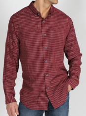 Get three times the travel convenience with the Trifecta Plaid shirt. It ...