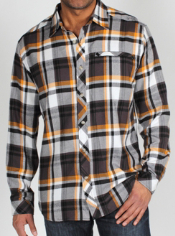 Live every day in the Pocatello Macro Plaid, a flannel shirt that is ...