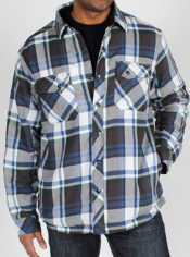 The Pocatello Jacket features the same soft plaid as the Pocatello Plaid ...