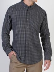 Stay stylish and comfortable in the Pisco Plaid. The silky soft fabric feels ...