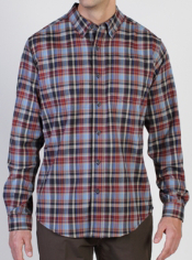 The flannel Brios is the perfect shirt for any adventure. The flannel plaid ...