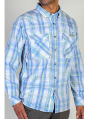 The classic Air Strip Macro Plaid shirt has been given an update. A slightly ...