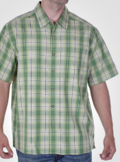 The Pisco Plaid Shirt adds some versatility and style to your travel ...