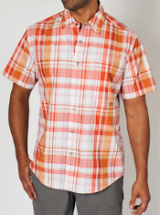 The quintessential traveling shirt, the Trip'r Plaid will keep you cool, ...