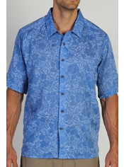 The Next-to-Nothing Aloha is a lightweight travel shirt that is perfect for ...