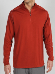 The ExO Dri 1/4 Zip is designed for performance featuring dri release ® ...