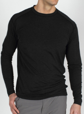 The functional, sporty Teanaway Long-Sleeve Shirt pairs the performance of a ...