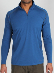Crafted from a dri release ® wool blend, the Teanaway 1/4 Zip shirt provides ...