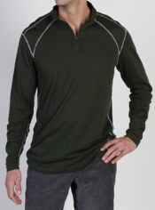 The JavaTech 1/4 Zip, designed for active performance, features S Café® ...