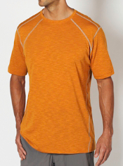 The JavaTech Tee, designed for active performance, features S. Café® ...