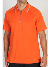 Whether you wear it alone or layered, the lightweight Micrion Polo is the ...