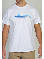 Fish on! This cotton graphic tee is perfect for the avid fisherman.