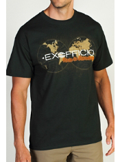 Explore the world in this adventurous cotton-blend graphic tee.