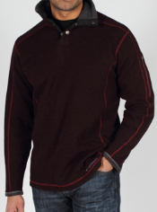 The Roughian Pullover Sweater blends the benefits of wool with a modern look....