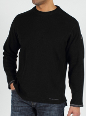The Roughian Sweater is a classic sweater style updated for a modern look. A ...