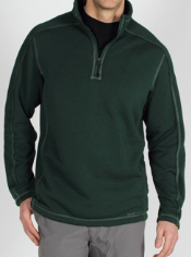 The Arrojo (a-row-ho) 1/4 Zip is a high performance dri release ® wool blend ...