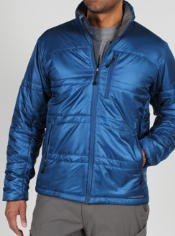 From jacket to pillow before take-off. Insulated with Primaloft® Sport, which...