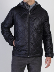 The cozy Storm Logic Hooded Jacket is the perfect lightweight travel jacket. ...