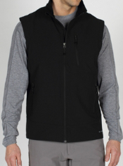 Whether you're moving through the airport or a storm, the Boracade Vest will ...