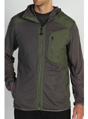 The BugsAway Sandfly Jacket, featuring Insect Shield® technology, is packable...