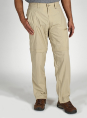 The long length BugsAway Ziwa Convertible Pant provides the perfect inseam ...