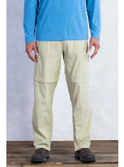 The BugsAway Ziwa Convertible Pant provides sun protection with a UPF 30+ ...