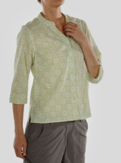 The uniquely ventilated Artisan Shirt has a sheer print to keep you cool and ...
