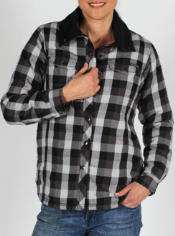 The Women's Pocatello Jacket features the same stylish plaid as the Pocatello...