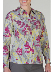 The Percorsa Print is the ideal shirt for a long day trekking on the trail or...