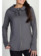 The Perflexion Jacket combines stylish details with functional fabric to ...