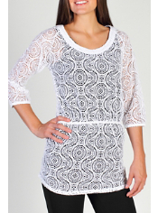 The Jacquardia Tunic will keep you looking stylish everywhere you go. The fun...