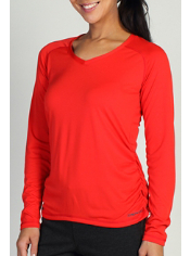 Whether you wear it alone or layered, the lightweight Micria V long-sleeve ...