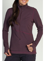The Mokha 1/2 Zip is a midweight top that is ideal as a transition layer when...