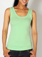 Stay fresh and wrinkle free with the versatile Go-To Tank top. This quick ...