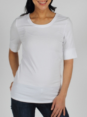 The Go-To 1/2 Sleeve Crew goes beyond being a great basic piece. It features ...