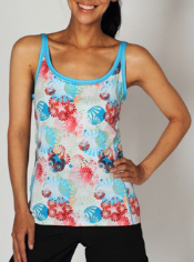 The Sol Cool™ Pinwheel Tank brings some summer fun to any adventure. This ...